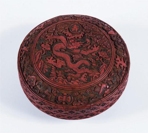 Kerek doboz - Jiajing-kor